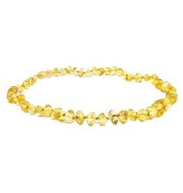"""Amber Monkey Teething Necklace - Lemon 13"""""""