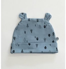 MinyMo House in the Woods Hat Blue