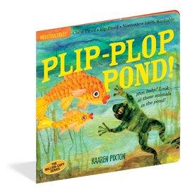 Workman Publishing Indestructibles: Plip-Plop Pond!