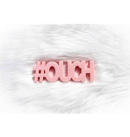 #Ouch Silicone Teether Pink