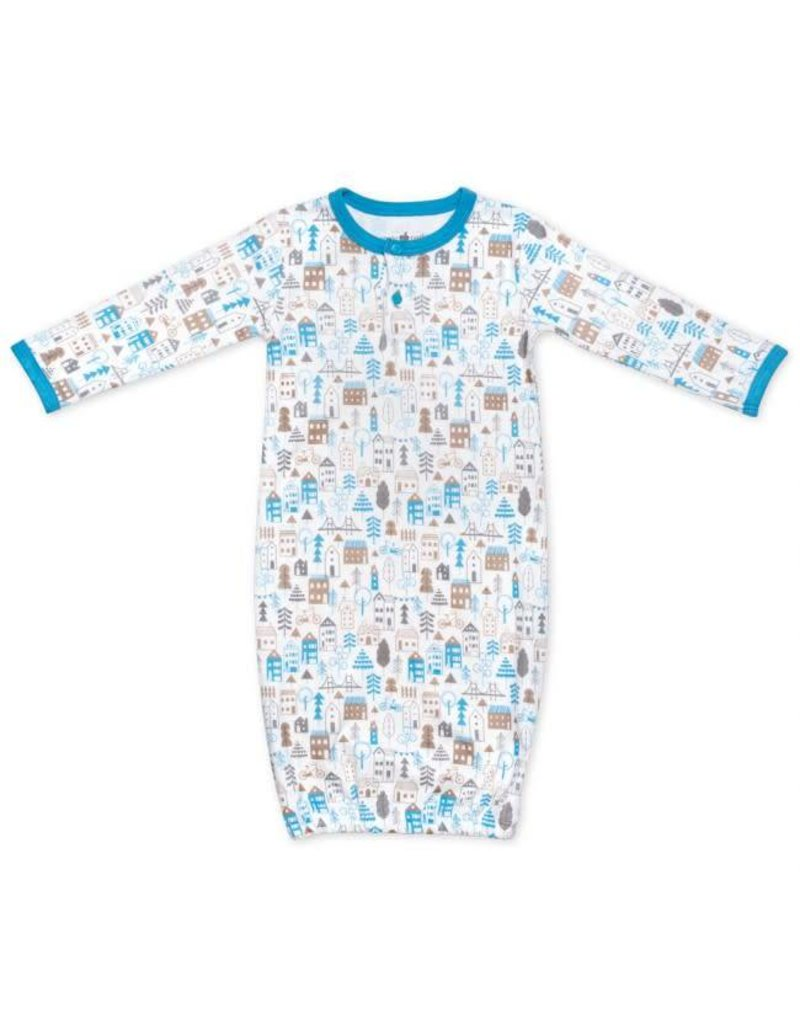 Apple Park City Boy Sleep Gown 0-3m