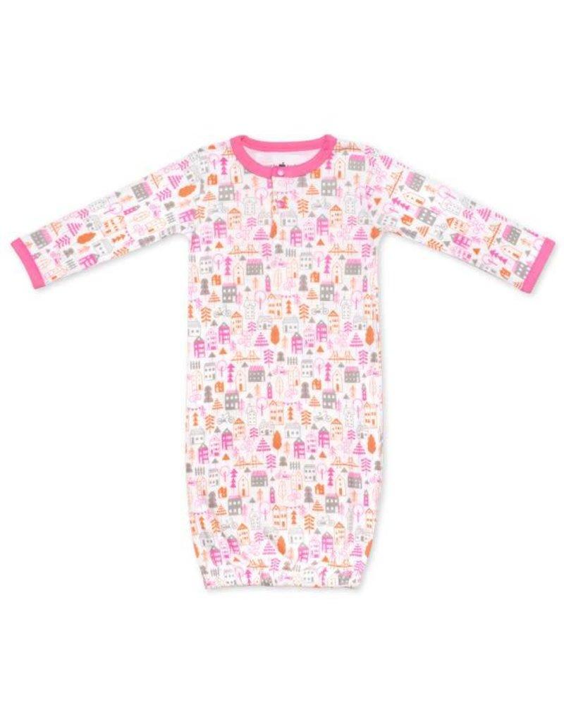 Apple Park City Girl Sleep Gown 0-3m