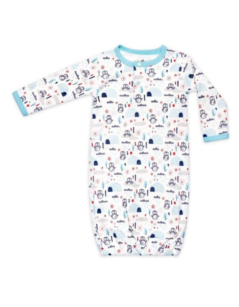 Apple Park Penguin Boy Sleep Gown
