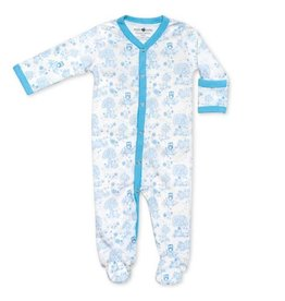 Apple Park Blue Storybook Footie