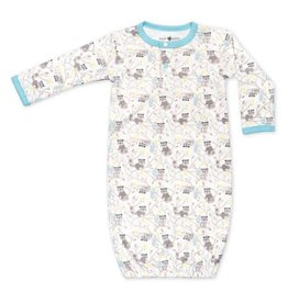 Raccoon Boy Sleep Gown 3-6m