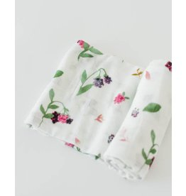 Deluxe Muslin Swaddle - Berry Patch