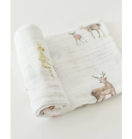Little Unicorn Cotton Swaddle - Oh Deer