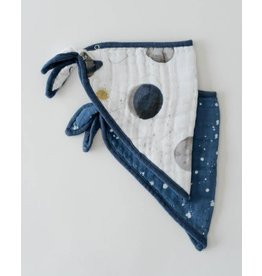Little Unicorn Bandana Bib - Planetary