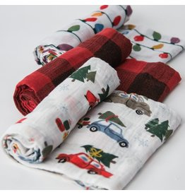 Cotton Swaddle Set - Holiday Haul (Limited Edition)