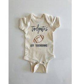 ND Tshirt Co Tailgates & Touchdowns Onesie