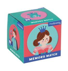Mudpuppy Enchanting Princess Memory Match