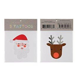 Meri Meri Santa + Reindeer Tattoo