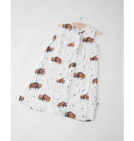 Cotton Sleep Bag - Bison
