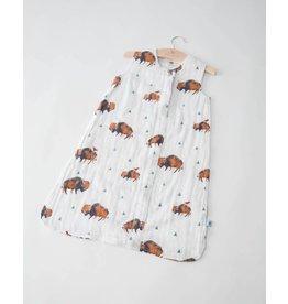 Little Unicorn Cotton Sleep Bag - Bison