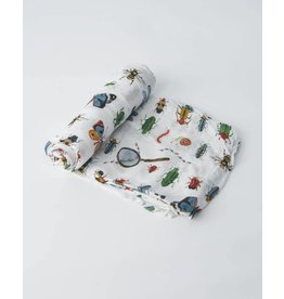 Little Unicorn Deluxe Muslin Swaddle - Bugs