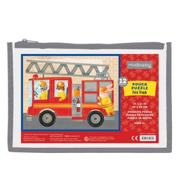 Puzzle Pouch - Fire Truck