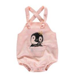 Penguin Romper - Pink