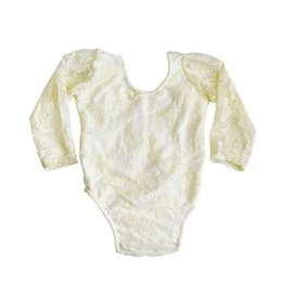 Bailey's Blossoms Lace Leotard - Ivory