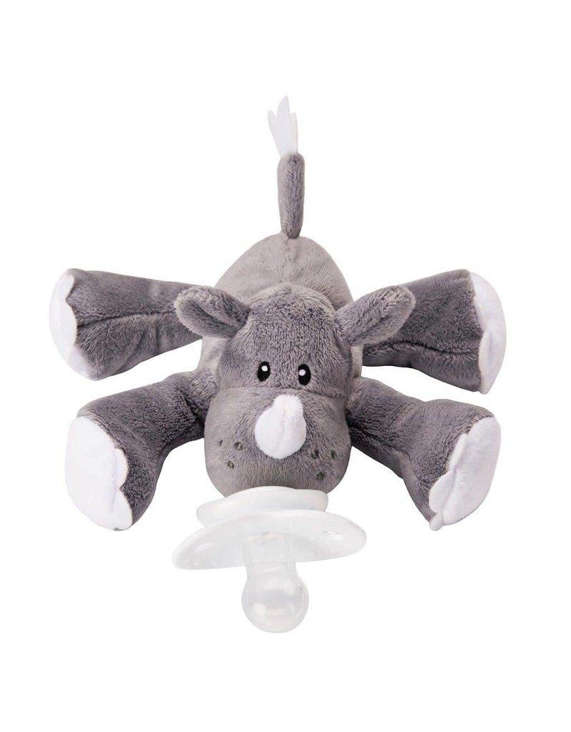 Nookums Paci Plushie - Rosie Rhino