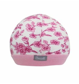 Coccoli Baby Cap, Pink Floral