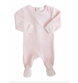 Coccoli Footed Sleeper, Light Pink