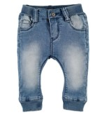 Baby Boy Jogger Denim, Medium Wash