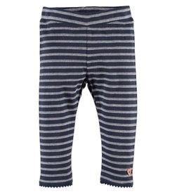 Babyface Stripe Leggings - Blue Indigo