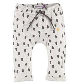 Babyface Speckle Dot Sweatpants, Cool Grey Melee