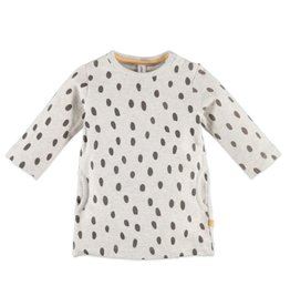 Speckle Dot Sweatshirt Dress