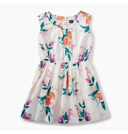 Georgia Peach Flower Dress