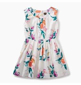 Tea Collection Georgia Peach Flower Dress