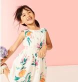 Georgia Peach Flower Dress