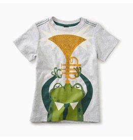 Tea Collection Jazz Frog Graphic Tee