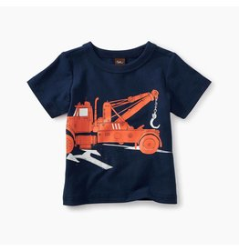 Tea Collection Tow Truck Graphic Baby Tee