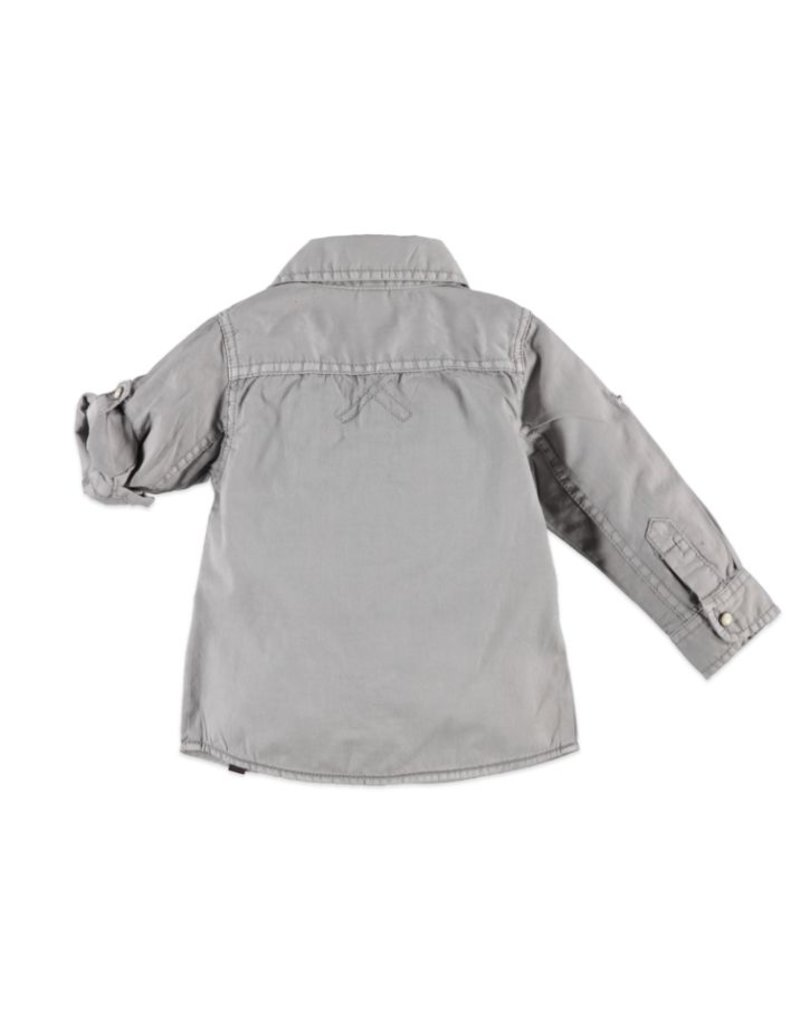 Concrete LS Button Down