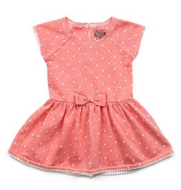 Kapital K Rosy Hearts Baby Dress
