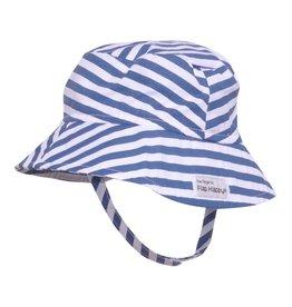 Flap Happy Bucket Hat - Hampton Stripe