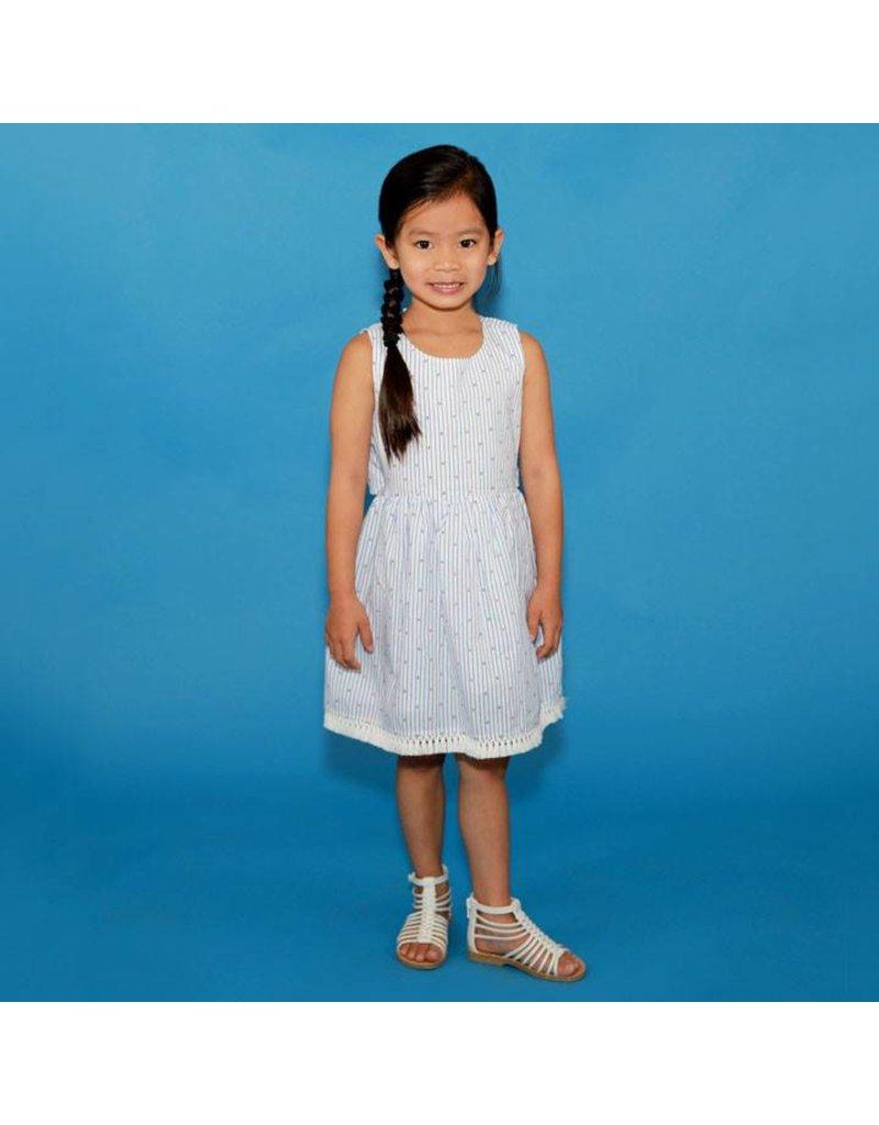 Kapital K Anchor Stripe Dress