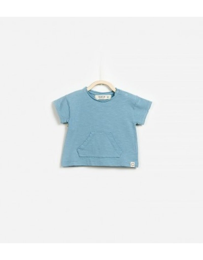 A Pocket for Me Tee, Blue