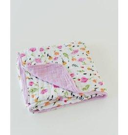 Cotton Muslin Quilt - Berry & Bloom
