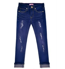 Girls Fashion Denim - Blueberry
