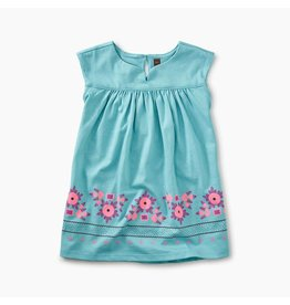 Graphic Empire Baby Dress, Ciel