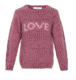 'Love' Knit Blouse