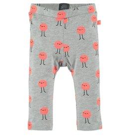 Baby Girl Leggings, Neon Smileys