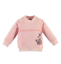 Llama Sweatshirt, Pink