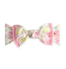 Trimmed Printed Knot Mini Pom, Posey