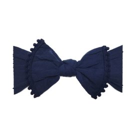 Trimmed Classic Knot, Navy