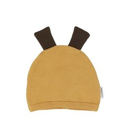 Organic Animal Cap, Honey Giraffe