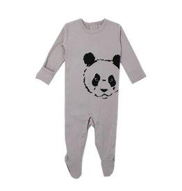 Organic Sleeper, Light Gray Panda