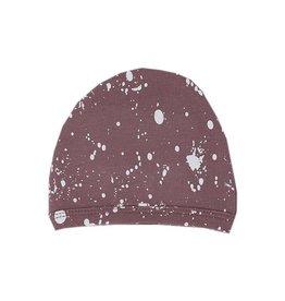 Organic Cute Cap, Lavender Splatter
